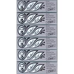 Rufin Brother`s Love Bartwichse, 6x10 ml clear, Sparpack