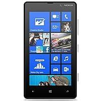 """Nokia Lumia 820 - Smartphone libre (pantalla táctil de 4,3"""" 480 x 800, cámara 8 MP, 8 GB de capacidad, 2 procesadores de 1.5 GHz, 1 GB de RAM, S.O. Windows Phone 8) color negro mate"""