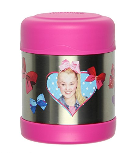 Thermos FUNtainer JoJo Siwa Food Jar, Pink, 10 Ounces Funtainer 10 Oz Food Jar