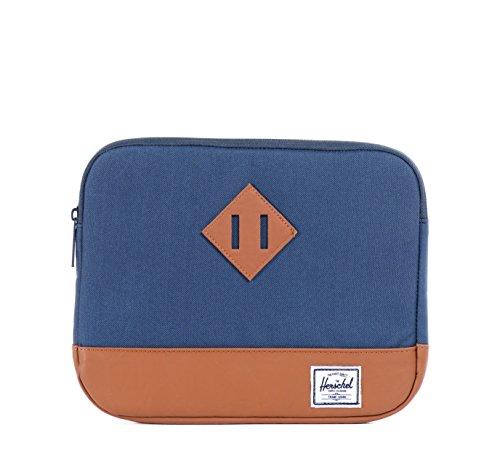 Herschel Heritage Tablet-Tasche, dunkelblau/Braun, 31 x 22 x 2 cm