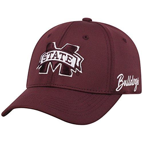 A Mississippi State Bulldogs Phenom Memory Fit 1fit Mütze, Kastanienbraun ()
