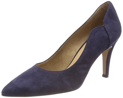 Tamaris Damen 22472 Pumps, Blau (Navy), 39 EU