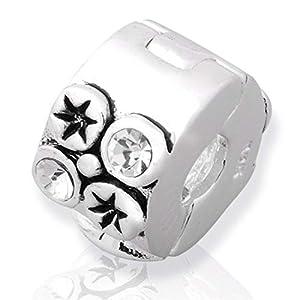 925 Silber Stopper von Unique für Bead Armbänder mit Gewinde BX0012