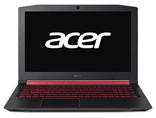 "Acer Nitro 5 - Ordenador portátil de 15.6"" Full HD (Intel Core i7-8750H, 8GB RAM, 1TB HDD+128GB SSD, Nvidia GeForce GTX1050, Linux) negro - Teclado QWERTY Español"