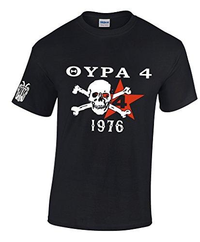 PAOK Thessaloniki T-Shirt Griechenland Hellas Saloniki Shirt Greece (M)