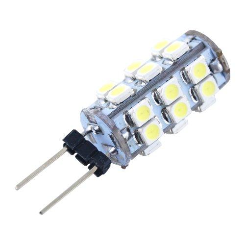 THG 4 PC Auto Auto LED-Lampen G4 24 SMD 3528 Day Wei? DC 12V G4 Mais- Ersatz f¨¹r Rv Camper Trailer Boots (Boot-plug-licht)
