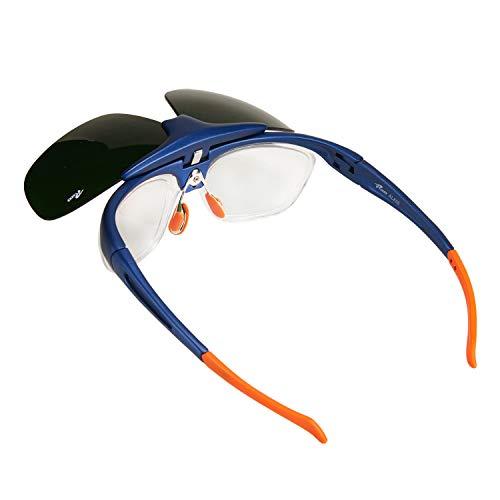 Babimax Flip-up Schutzbrille Schweißbrille aus PC&IR Scheibe für Bauarbeit Schweißen Radfahren Outdoor