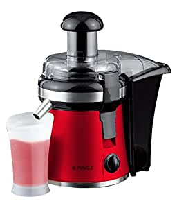 Aadvay Enterprises High Grade Steel Centrifugal Juicer (Red & Black)
