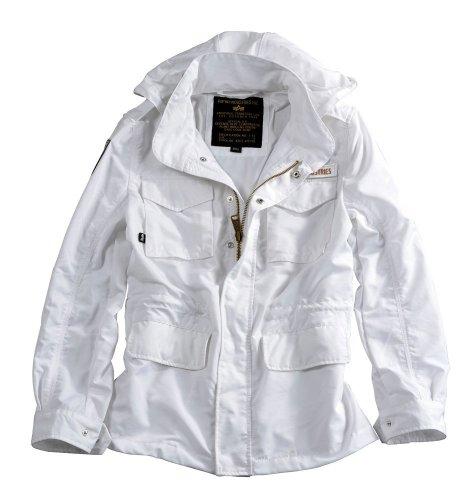 Alpha Industries Jacke Unit Wmn White