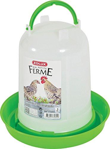 Zolux Abreuvoir Basse Cour Plastique pour Élevage/Agriculture Urbaine 3 L