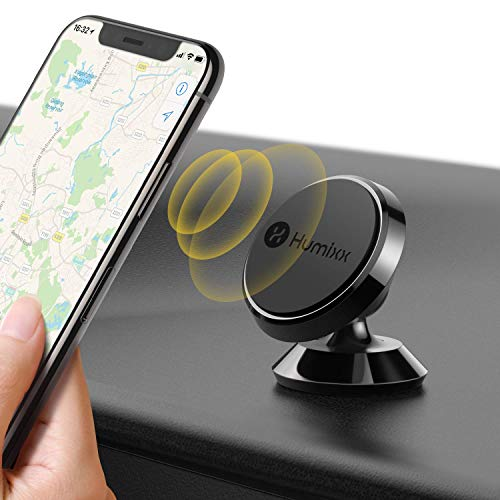 dyhalterung Auto Magnet, 360 ° Einstellbare Armaturenbrett Kfz Handy Halterung - Schwarz ()