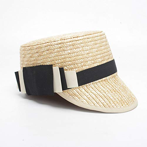 Sonnenhüte für Frauen handgefertigte Schirmmützen LadyParty Hat Flat Top Hat ()