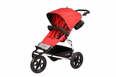 Mountain Buggy - Carrito deportivo, color rojo