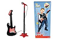 Simba Smoby Electric Guitar and Standing Mic