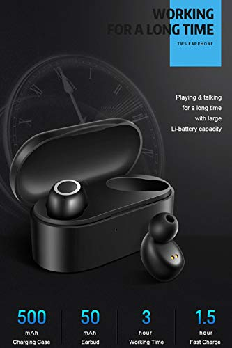 ALIKEEY Kabellose Kopfhörer Mini Twins Echte Sport Ohrhörer mit Bluetooth In Ear Stereon Ohrhörer für iPhone, iPad, Samsung, Huawei, xiaomi und mehr - 8
