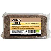 Bio para todos Pan Alemán de Centeno Bio - 12 Paquetes de 500 gr - Total: 6000 gr