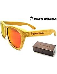 Nuovo Bushwacka mar Rosso Polarized fatto a mano Occhiali da sole in legno b6eccd0e93f2b