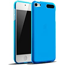 TopAce® Ultra Slim Transparente TPU Silicona Funda Protective Case Funda Cover para Apple iPod Touch 6th Generation 2015 (Azul)