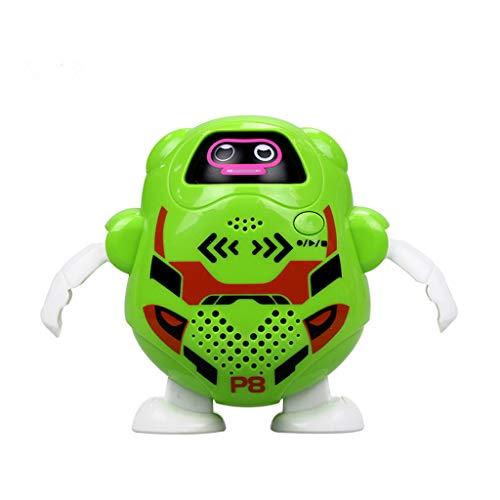 Preisvergleich Produktbild LCLrute Silver Lit Robot Takibot Talkback Roboter mit verschiedenen Farben (Grün)