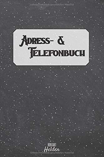 Adress- & Telefonbuch: Adressenverzeichnis für Ihre Kontakte | A-Z Register Kontaktbuch | Adressbuch Klein, A5 (Telefonnummer Kontakt Für Amazon)