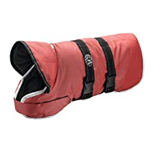 HUNTER Denali Reflect Dog Coat, 50 cm, Red