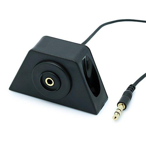 Shentian USB//Klinke Verl/ängerungskabel mit Einbaubuchse und Adapter//mit 2m Verl/ängerungskabel f/ür KFZ