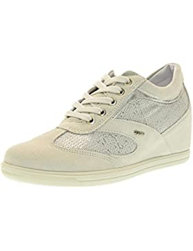 IGI&CO scarpe donna sneakers basse con zeppa interna 77812/00 BIANCO