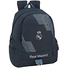 Safta Mochila Adaptable Carro Real Madrid Color Azul 43 cm 611834662