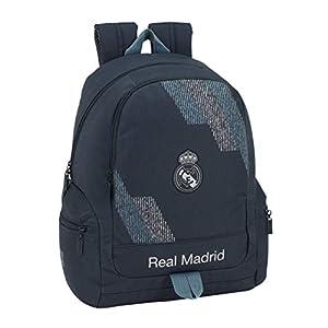 41mJuWxQFEL. SS300  - Safta 072411 Real Madrid 2 Mochila Tipo Casual 43 cm, 1 litro, Azul