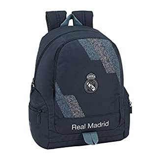 41mJuWxQFEL. SS324  - Safta- Mochila Adaptable Carro Real Madrid, Color Azul, 43 cm (611834662)