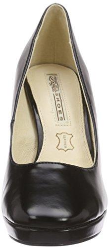 Buffalo115-1617 BOX PU - Scarpe con Tacco Donna Nero (nero (black 01))