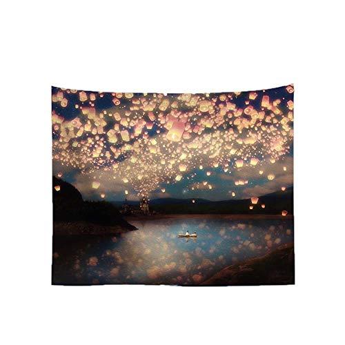 Patrón kongming linterna tapicería moderna