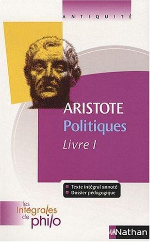 Politiques : Livre I