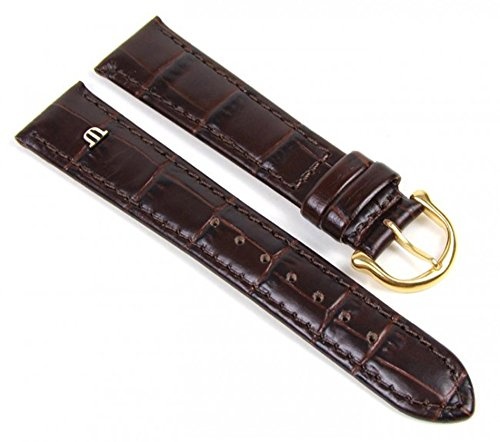 maurice-lacroix-replacement-band-watch-band-leather-kalf-louisiana-look-dark-brown-19mm-19437g