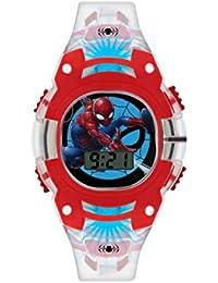 Spiderman Boys Digital Watch with PU Strap SMH4000
