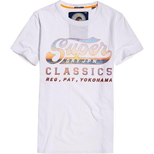 117f9ac7ff4 Superdry Men S Classics Lite Men S White T-Shirt In Size M White