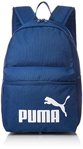 d231a5211 Puma Phase Mochila Poliéster Azul, Blanco - Mochila para portátiles y  netbooks (Poliéster, Azul, Blanco, Monótono, 600 D, Unisex