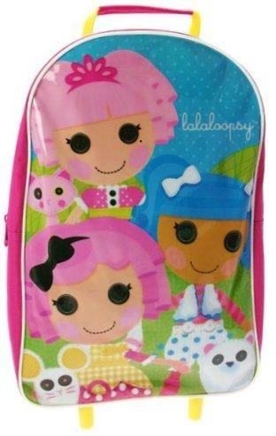 Lalaloopsy Rädern Tasche Koffer (Lalaloopsy Puppen Große)