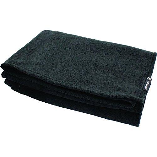 Victorinox Travel Accessoires 4.0 Deluxe Travel Blanket - Leichte platzsparende Reisedecke aus Fleece - Schwarz