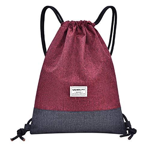 Barlingrock Strandtasche Outdoor Fitness Sporttasche Bundle Tasche Unisex Kordelzug Rucksack, Damen Rucksack Reisetasche, Rucksack, Mode Umhängetasche