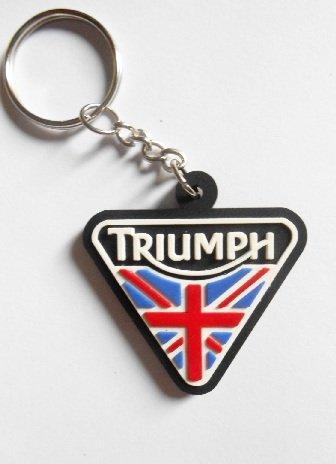 Llaveros - Triumph, UK, para motocicletas, motos, coches, llaves, goma de caucho...