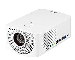 LG Beamer HF60LSR bis 304,8 cm (120 Zoll) CineBeam Full HD LED Projektor (1400 Lumen, Drahtlose Screen-Share-Funktion, webOS), weiß