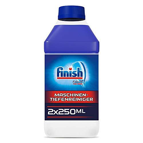 Finish Maschinentiefenreiniger, Spülmaschinenreiniger, Maschinenpfleger gegen Kalk und Fett, Sparpack, 2er Pack (2 x 250 ml)