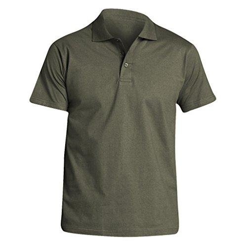 SOLS Herren Prescott Jersey Polo-Shirt, Kurzarm Dunkelgrau