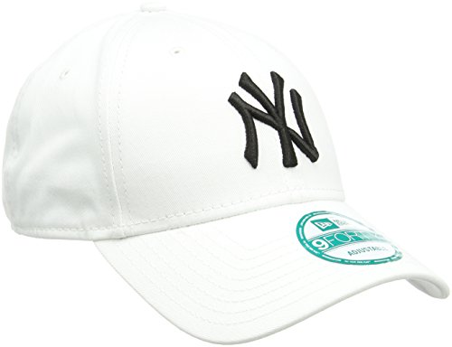 New Era Kappe Herren New York Yankees, Weiß/Schwarz, OSFA, 10531940