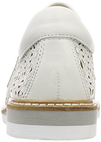 Caprice Damen 24505 Slipper Weiß (White Nappa 102)
