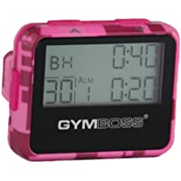 Gymboss Interval Timer and Stopwatch - PINK CAMOUFLAGE / PINK GLOSS