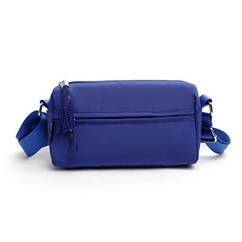AOTIAN 7766#, Borsa bowling donna Multicolore G-MHTY D-BLUE