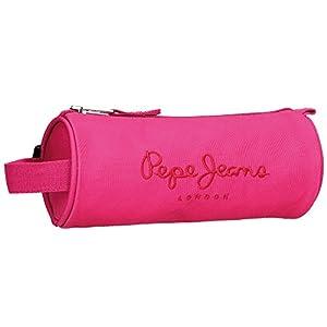 Pepe Jeans Plain Color Neceser de Viaje, 1.86 litros, Color Rosa