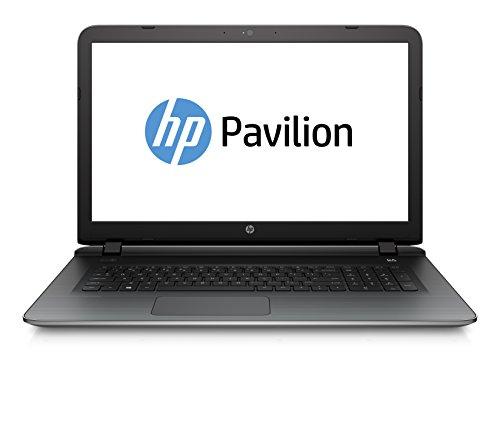 HP Pavilion 17-g110ng 43,9cm (17,3 Zoll Full HD) Notebook (Intel Core i7-6500U, 12 GB RAM, 1 TB HDD, NVIDIA GeForce 940M /4GB, DVD-Brenner, Windows 10) silber